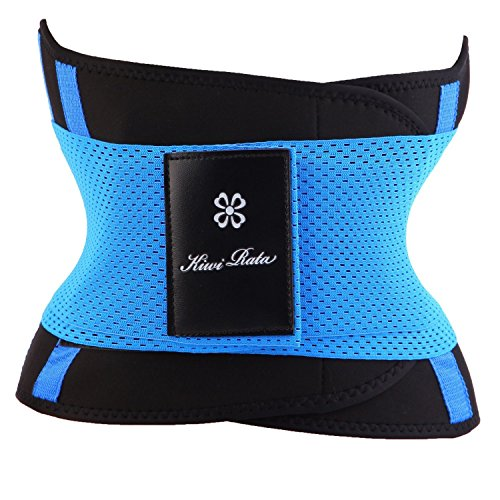 MISSY MOLY Waist Trimmer Intimating Belt Modeling Back Supporto lombare Dimagrante Attivo Maschi e Donna blue S