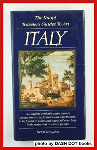 The knopf traveler's guide to art: italy: helen langdon, paul.