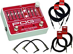 Electro Harmonix Pog 2 Polyphonic Octave Pedal w/6 Free Cables!