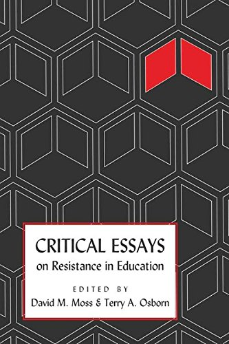 Critical Essays on Resistance in Education (Counterpoints)