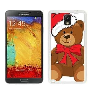 Featured Desin Christmas Bear White Samsung Galaxy Note 3 Case 3 by icecream design
