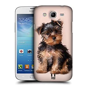 AIYAYA Samsung Case Designs Yorkshire Terrier Puppy Popular Dog Breeds Protective Snap-on Hard Back Case Cover for Samsung Galaxy Mega 5.8 I9150 I9152