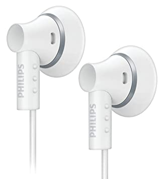 Philips SHE3000WT/10 Ear Bud Headphones - White (discontinued by  manufacturer)