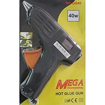 SMB TOOLS Mega 40 Watt Brand New Hot Melt Glue Gun with 5 Pieces Big Glue Sticks Free