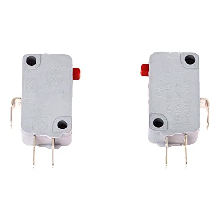 Supply 2pcs 250vac 16a Spdt 1no 1nc 3p Limit Microswitch For Rice Cooker Home Appliance Parts