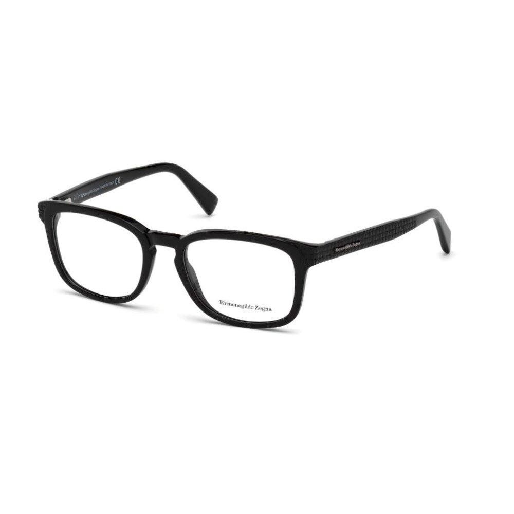 Ermenegildo Zegna EZ5109 Monturas de Gafas, (Negro Lucido ...