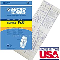 20 Allergy Bags for Eureka Style F&G Vacuum Cleaner F G Sanitaire Commercial