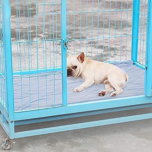 yhwygg Cama Perro Cama para Perros De Verano Estera De Enfriamiento para Mascotas Chihuahua Pitbull Husky Perro Grande Cama De Enfriamiento Cachorro Manta Reversible Puppy Camas 80 * 110 Cm: Amazon.es: Productos