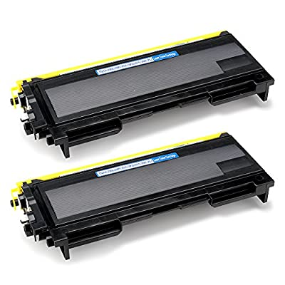 Office World Compatible Toner Cartridge Replacement for Brother TN350 (Black, 2-Packs),Compatible with Brother Intellifax 2820 Intellifax 2920 HL-2070N HL-2040 DCP-7020 MFC-7820n