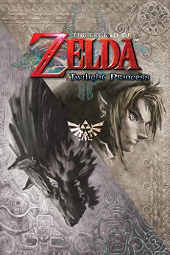 The Legend of Zelda Twilight Princess Nintendo High Fantasy Video Game Series Crest Poster 12x18 inch