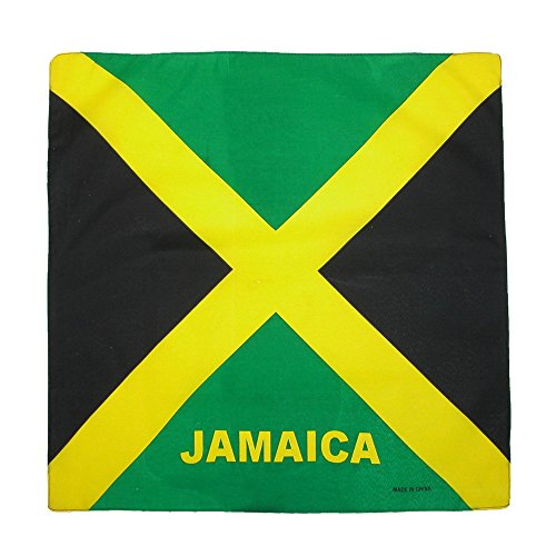 Jamaican Flag - CTM Cotton Jamaican Flag Bandana, Jamaica
