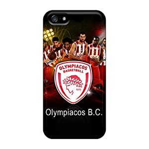 JohnRapper Iphone 5/5s Well-designed Hard Case Cover Olympiakos Bc Protector