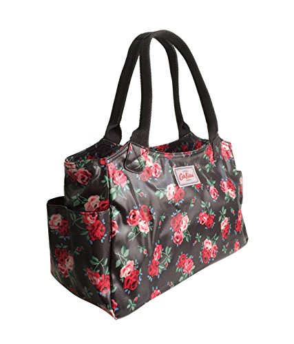 Cath Rose Oilcloth Bag Charcoal Kidston Cranbrook Shoulder In Medium Rrq6Rw