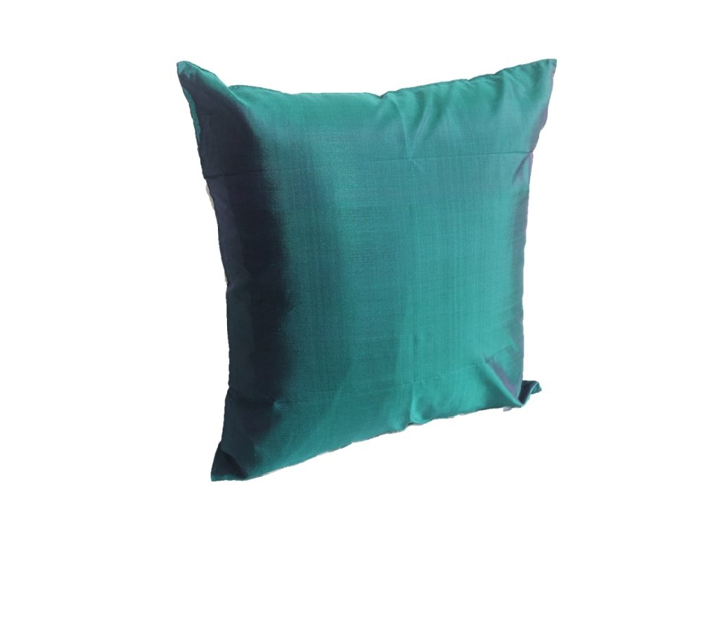 Lotus House Emerald Green Silk Pillow Case by Lotus House
