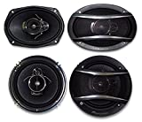 2) Pioneer TS-A1676R 6.5'' 3-Way + 2) Pioneer TS-A6966R 6X9 3-Way**PIONEER CAR SPEAKER PACKAGE