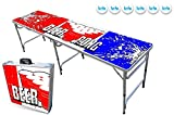 PartyPongTables.com 8-Foot Beer Pong Table - Beer Pong Edition