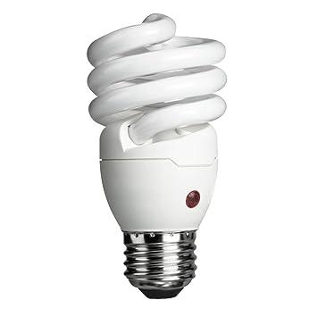 Philips 429746 Energy Saver Compact Fluorescent Dusk to Dawn 14 Watt  Twister LightPhilips 429746 Energy Saver Compact Fluorescent Dusk to Dawn 14  . Outdoor Dusk To Dawn Light Sensor Control For Cfl Bulbs. Home Design Ideas