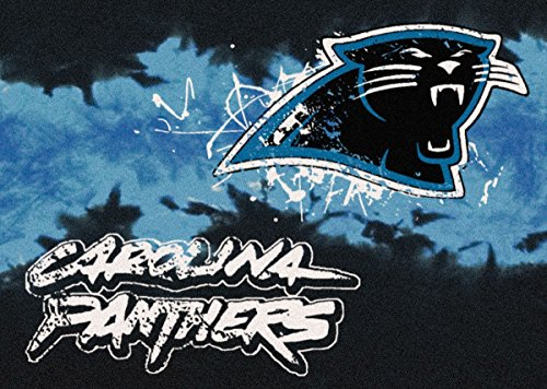 Carolina Panthers NFL Team Fade Area Rug by Milliken, 3'10