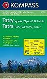Hohe Tatra/Vysoke Tatry: 1 : 50 000: Wandern / Rad / Skitourenkarte. CZ/D. GPS-genau