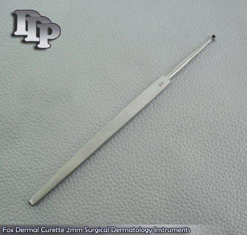 Fox Dermal Curette 2mm Surgical Dermatology Surgical DDP Instruments