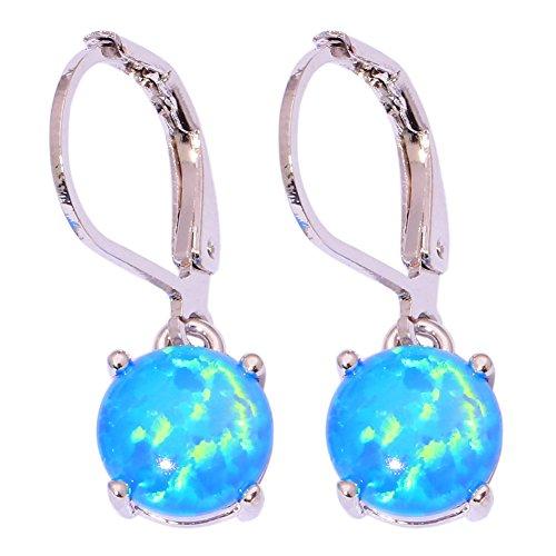 Top 9 best leverback earrings blue opal: Which is the best one in 2020?