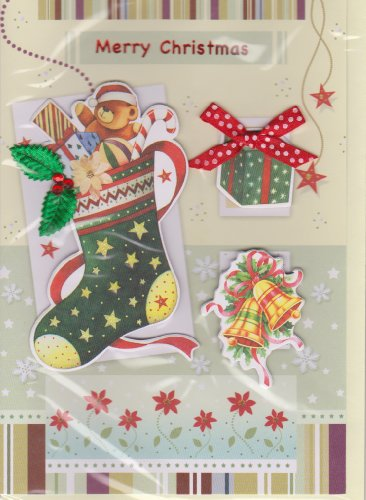 Christmas Handmade Greeting Card Deluxe Assortment 12 Pack