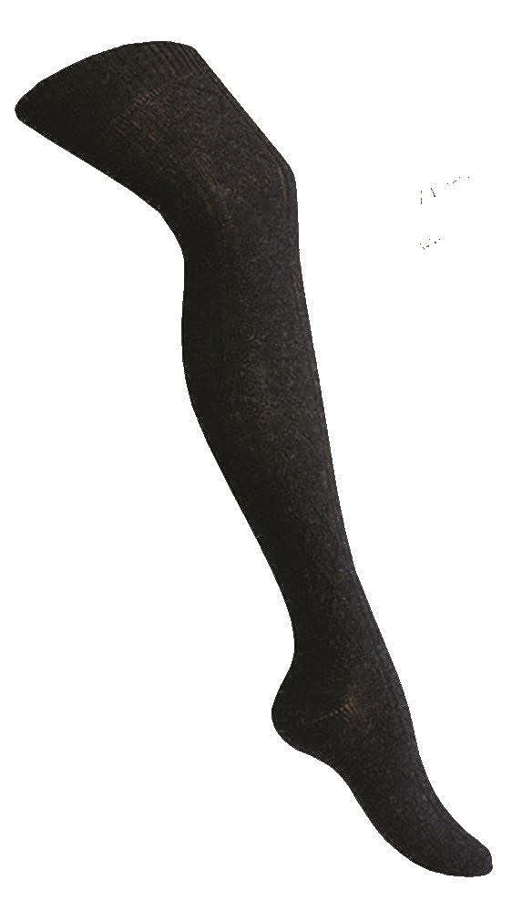 1 Paire de bas hiver angora overknee côtes bas anthracite/gris/blanc/noir/art-of-baan Star-Socks Germany 5550