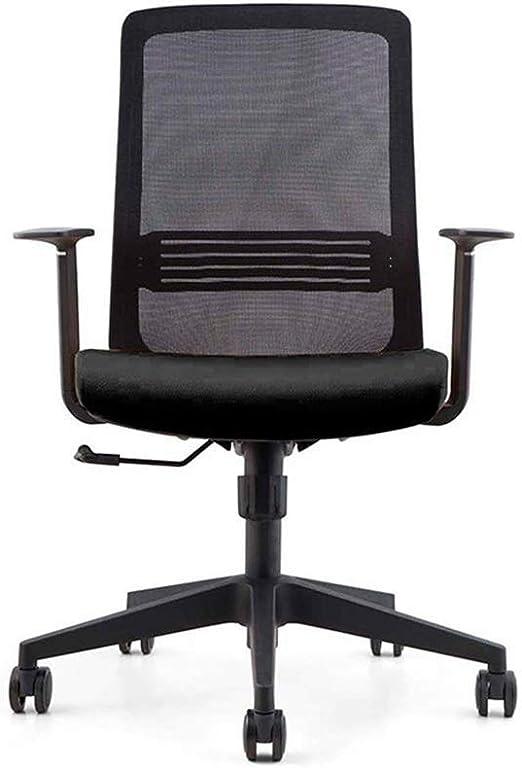 HIZLJJ Silla ergonómica de Oficina con Respaldo Alto y apoyabrazos ...