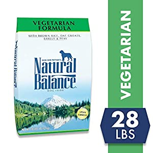 Natural Balance Vegetarian Formula Dry Dog Food, 28 Pounds