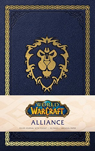 World of Warcraft: Alliance Hardcover Ruled Journal (Gaming)