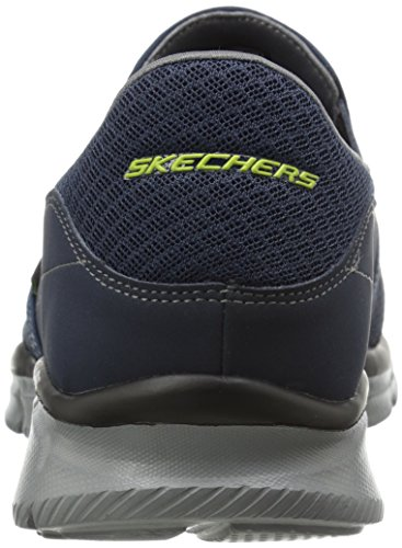 Skechers Herren Equalizer Persistent Low-Top Blau (NVGY)