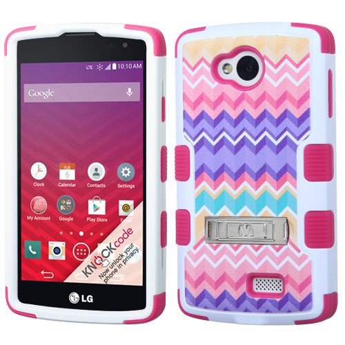 LG Tribute LS660 / F60 MS359 / Transpyre VS810PP Case, Heavy Duty Tough 3 Piece Layer Combo Hybrid Armor Hard Rubberized Shell Snap On Exterior and Lightning Soft Silicone Rubber (Audio Combination Case Camo)