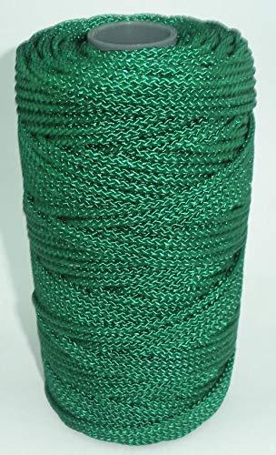 Catahoula 17124 Braided Green Nylon Twine #24 225 Lb Test 730 ft 1 Lb. 23559 ()