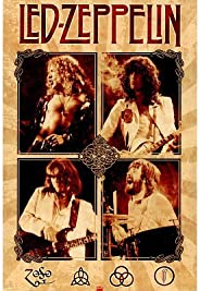(24x36) Led Zeppelin (Group, Parchment) Music Poster Print