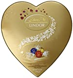 Lindt Lindor Valentine Truffles Heart Box, Assorted Hearts, 5.7 Ounce