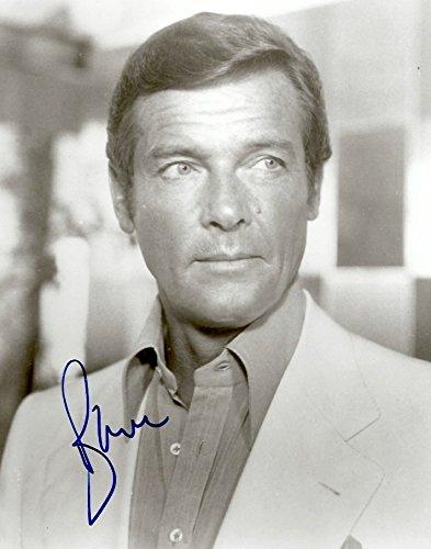 Roger Moore (+) ACTOR JAMES BOND autograph, signed photo