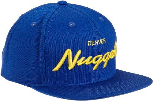 NBA Denver Nuggets Anniversary Snapback Draft Cap, One Size, Blue ()