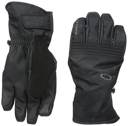 Oakley Men's Roundhouse Short Gloves, Jet Black Camo, Medium by Oakley