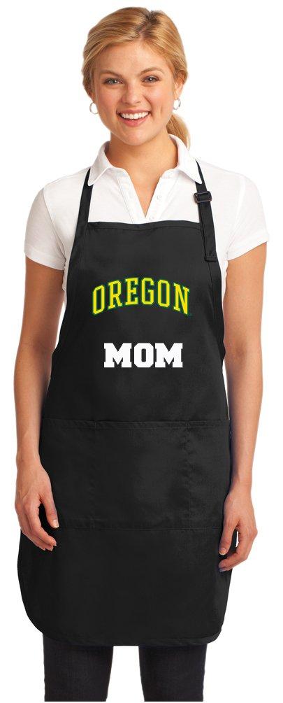 Broad Bay University of Oregon Mom Aprons NCAA UO Mom Apron w//Pockets