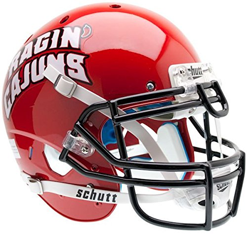 Replica Ragin Cajuns Helmet Mini - Schutt NCAA Louisiana-Lafayette Ragin' Cajuns Authentic XP Full Size Helmet