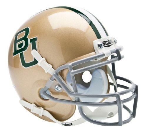 Bears Throwback Mini Helmet (Baylor Bears 1997-2002 Throwback Schutt Mini Helmet)