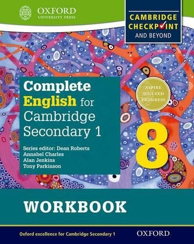 Complete English for Cambridge Lower Secondary Student Workbook 8: For Cambridge Checkpoint and beyond (CIE Checkpoint)