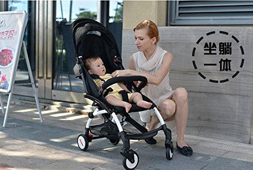foldable aluminum Luxury baby landscape stroller 3 in 1 ,prams stroller travel and pushchairs by vory (Image #3)