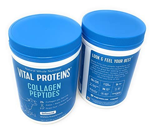 Vital Proteins Collagen Peptides - Pasture Raised, Grass Fed, Paleo Friendly, Gluten Free, Single Ingredient (20 oz, 2 Pack) by Vital Proteins (Image #4)