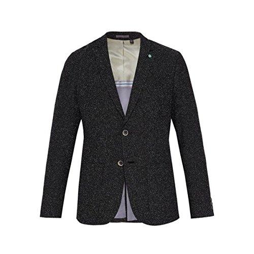 テッドベーカー メンズ ジャケット&ブルゾン Castle Boucle Cotton-blend Blazer [並行輸入品] B07D485WH7 Large
