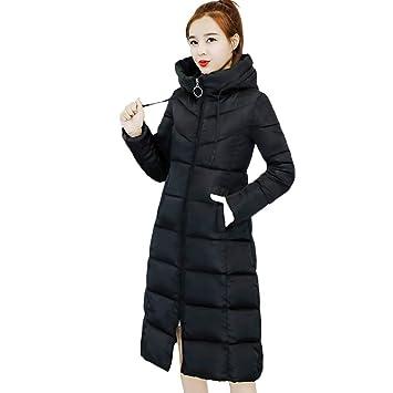 Kleidung Damen DAY.LIN Lange Ärmel Hoodie Mantel Jacke Windjacke Outwear Oben (EU42 2XL, Schwarz 3)