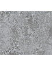Papel de Parede Vinílico Cimento Queimado Bobinex Uau Cinza Escuro