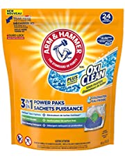 ARM & HAMMER Laundry Detergent Plus OxiClean Coldwater Paks, 24 Paks