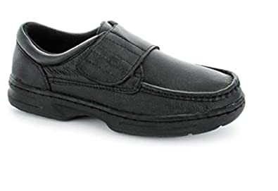 c2a42920a7c2 Dr Keller Mens Velcro Fastening Leather Comfort Wide Shoes  Amazon.co.uk   Shoes   Bags