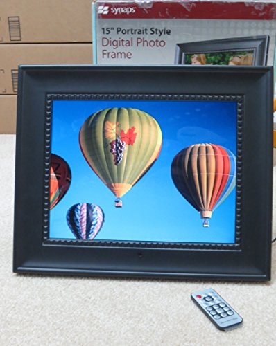 Synaps 15 Portrait Style Digital Photo Frame